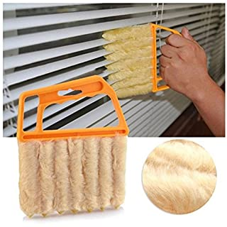 Demarkt 7 Brush Venetian Blind Clean Dust Cleaner Slats Mini Duster Washable Easy
