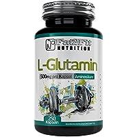 L-Glutamin 500mg - 250 Kapseln - Die preiswerte Alternative preisvergleich bei billige-tabletten.eu