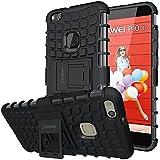 Huawei P10 Lite Hülle, ykooe (TPU Series) P10 Lite Dual Layer Hybrid Handyhülle Drop Resistance Handys Schutz Hülle mit Ständer für Huawei P10 Lite [5,2 Zoll]