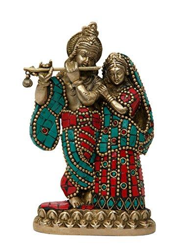 Aesthetic Decors Radha Krishna W Stone Work