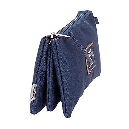 512ey3JHmbL. SS416  - Pepe Jeans Cross Neceser de Viaje, 22 cm, 1.32 litros, Azul