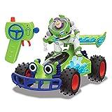 Dickie Toys 203154000 RC Buggy with Buzz, ferngesteuertes Spielzeug, Toy Story Fahrzeug mit Funksteuerung, für Kinder ab 4 Jahren, Mehrfarbig