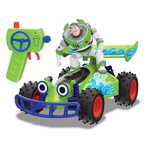 Dickie Toys 203154000 RC Buggy with Buzz, ferngesteuertes Spielzeug, Toy Story Fahrzeug mit Funksteuerung, für Kinder ab 4 Jahren, Mehrfarbig*