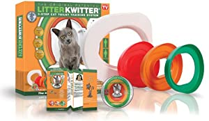 Litter Kwitter Cat Toilet Training System from Doogie Stuff Limited