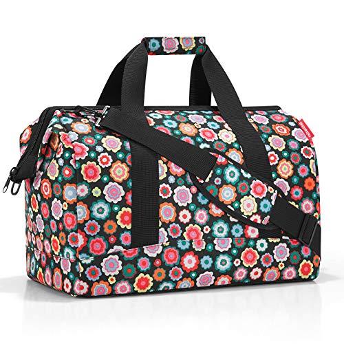 Reisenthel Allrounder L Bagage Cabine, 48 cm, 30 liters, Multicolore (Happy Flowers)