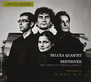 Complete String Quartets (Preview CD): Op. 18 No. 6 & Op. 127