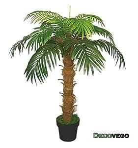 Palmier cocotier plante arbre artificielle artificiel - Plante artificielle exterieur pas cher ...