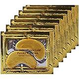 Boolavard® TM 10 paia Nuovo oro di cristallo della polvere del gel occhio del collageno Maschera Maschere