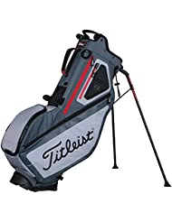 Titleist Players 5 Standbag gris/rojo