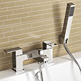 Generic PS Hand Waschbecken Oom BAS Wasserhahn-Set tagesl chrom Bad Dusche Spültisch Armatur Wasserhähne Hand Held ER FI Mixer Filler