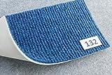 Moké - moquette su misura - Blu 132 - Larghezza 200cm - Lunghezza al metro