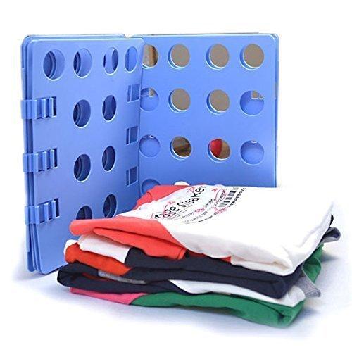 Ohuhu® Kleidung Faltbrett, Kleidung Falter, Wäschefaltbrett, Hemdenfalter, Erwachsene Kleider Hosen Wäsche T-shirt Organizer