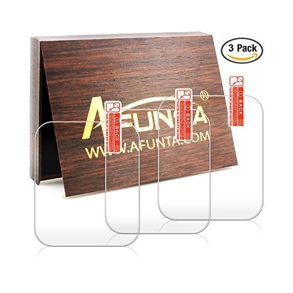 Protector de Pantalla para Garmin Forerunner 35, AFUNTA 3 Pack de película de Vidrio Templado Anti-Scratch de Alta… 4