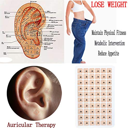 happy event 300pcs Ohr Therapie | Ear Patch Auriculotherapie | Akupunktur Samen | Therapy Ear Patch Auricular Auriculotherapy Acupuncture Seed - Ohr Therapie