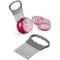 Metaltex - Guía Corta Alimentos, Acero Inoxidable