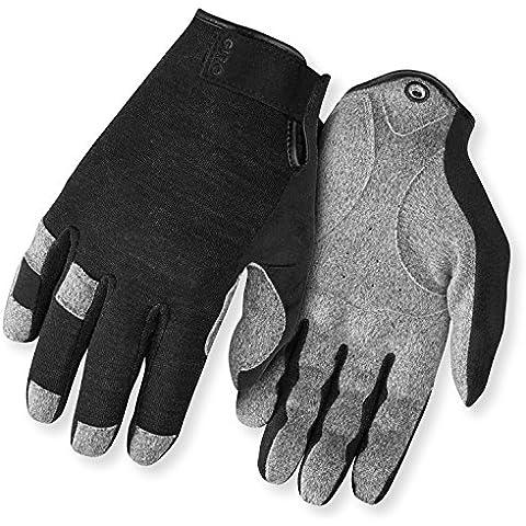 Giro Hoxton lf - Guantes de ciclismo, color negro / marrón, talla S