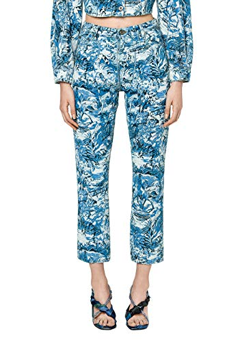 OFF-WHITE Femme OWYA004F183860678799 Bleu Claire Coton Jeans OFF-WHITE