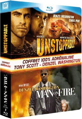 FOX PATHE EUROPA Unstoppable + Man on Fire [Coffret 2 Blu-ray]