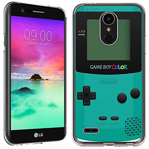LG Stylo 3Fall-(Crystal Clear) paletteshield Weiche Biegsame TPU Gel Haut Phone Cover (passgenau LG Stylo 3/Stylus 3) Designs Gamer, IM032 -