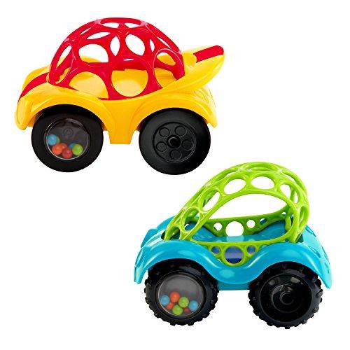 Oball, Spielzeugauto mit Rassel