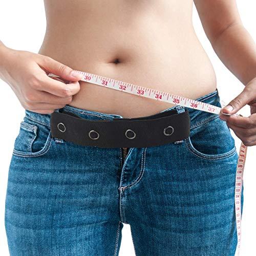 Adkwse Adkwse Hosenerweiterung Schwangerschaft 4 Pack?Elastischer Schwangerschaftsgürtel in Schwarz