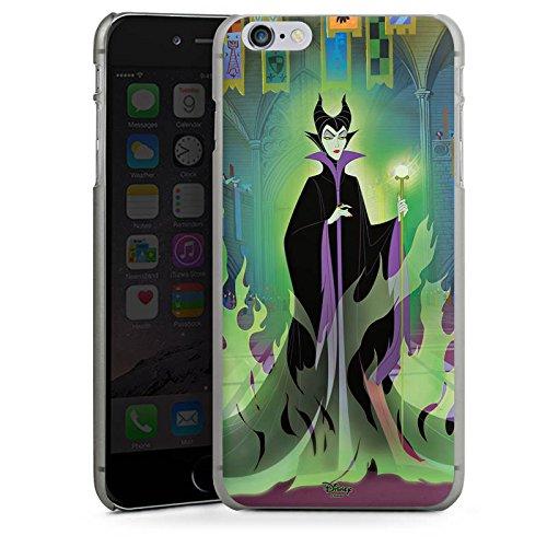 Apple iPhone X Silikon Hülle Case Schutzhülle Disney Dornröschen Merchandise Geschenk Hard Case anthrazit-klar