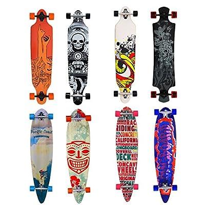 VINGO® Skateboard Longboard Street Freeride Longboard