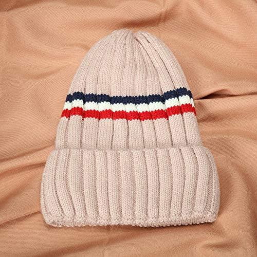 XHHWZB Frauen Mädchen Winter Wollmütze Schal Set Verdicken Strickmütze Hüte Halswärmer Schals für Damen (Farbe : Style - Commando Kostüm Für Jungen
