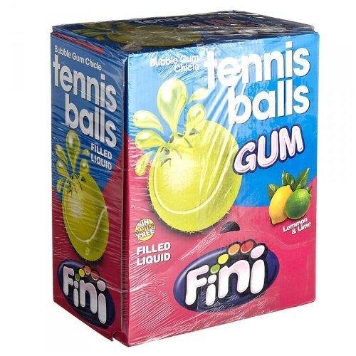 Fini Tri D'Aix - Bubble Gum - Kaugummi - Sports Tennis - Box mit 200 Stück
