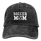 Funy hats Proud Soccer Mom Mens&Womens Vintage Style Comfortable Sport cap Baseball cap