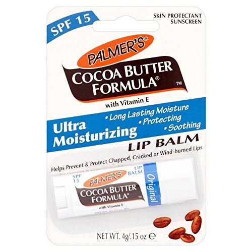 Beurre de Cacao de Formule Palmer Baume Hydratant à la vitamine E et FPS 15 - Paquet de 6
