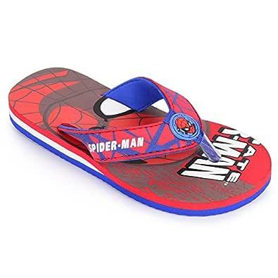Spiderman by Kidsville Red Color Boy's Flip-Flop 6 Kids UK (23 EU) (SM0EBF906 (S-18))