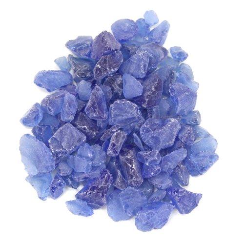 Koyal machen Mittelpunkt Vase Filler Bulk Beach Seaglass, 4.5-pound, Royal Blau/Ocean Blau