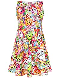 Shopkins M/ädchen Kleid