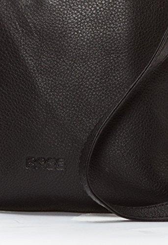 BREE Toulouse 1 | Umhängetasche | edelstes Leder | slate black smooth