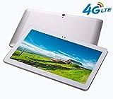 4G LTE 10.1 pouces Tablette Octa Core IPS Bluetooth RAM 4Go ROM 64Go 4G Double carte...