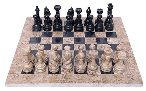 radicaln-handmade-black-and-coral-marble-two-player-chess-game-marble-chess-set-chessboard-radicaln-