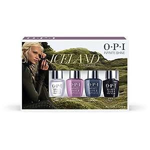 OPI NAIL LACQUER–Iceland 2017Fall Collection–Mini 4pk–4X 3.75ML/0.125oz