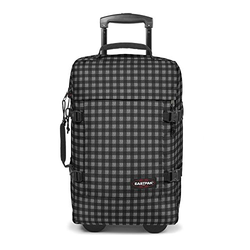 Eastpak-Authentic-Collection-Strapverz-valigia-a-2-ruote-51-cm-checksange-black