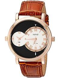August Steiner Reloj con movimiento cuarzo suizo  Marrón 43 mm