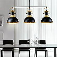 Lámpara nórdica/luz colgante/luz de celda simple retro para restaurante/mesa de billar/bar/sala de estar/dormitorio/estudio
