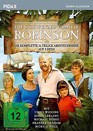 Die schweizer Familie Robinson / Die komplette 26-teilige Abenteuerserie nach dem Roman von Johann David Wyss (Pidax Serien-Klassiker) [4 DVDs]
