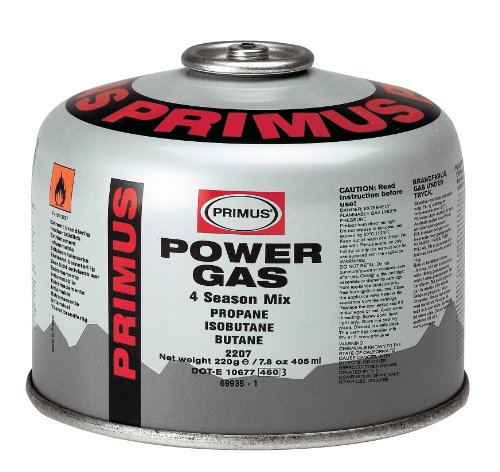 Primus valve gas cartridge 230 g gas bottle