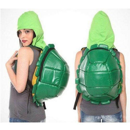 Turtles Rucksack mit Kapuze und Augenbinde