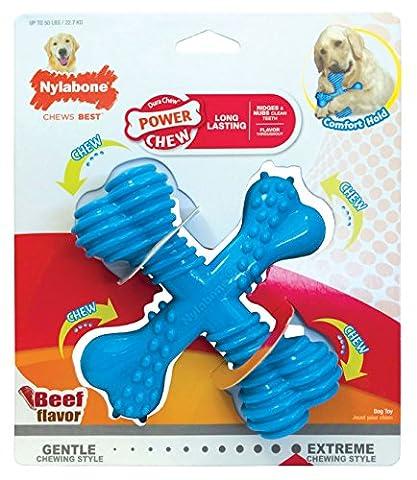 Nylabone Dura X-Bone Beef Flavour Dog Chew