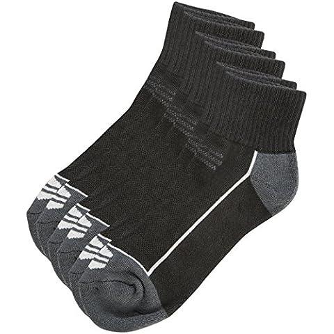 Ultrasport Avery - Set de 3 calcetines de correr, calcetines cortos unisex