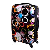 XL Hartschalen Koffer Trolley TSA Polycarbonat 85 Liter Multi Color 813