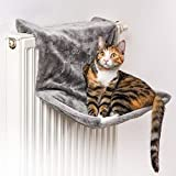 CanadianCat Company  | Liegemulde für Katzen in grau ca. 45x26x31 cm Katzen Heizungs-Liege XL