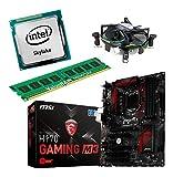 Aufrüstkit H170_Gaming M3+i5-6700+8GB Desktop-PC (Intel Core i7-6700 Skylake, 8GB RAM, on Chip: Intel HD530, Kein Betriebssystem)