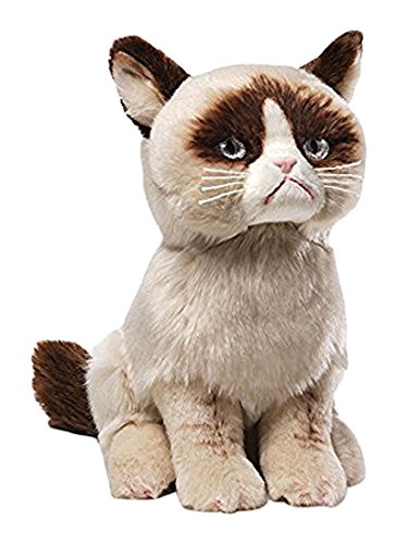 Enesco 4040133 Figurina Grumpy Cat, Resina, Disney Show Case 23 cm